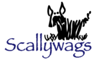 Scallywags Dog Grooming Logo